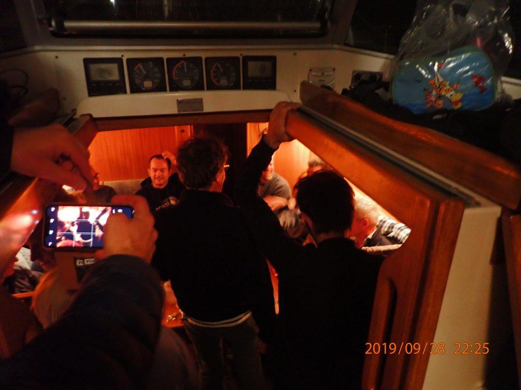 26 personer til hygge i Susannes Halberg Rassey
